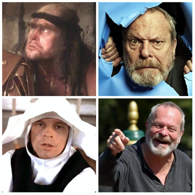 Terry Gilliam is 77 today, Happy Birthday Terry