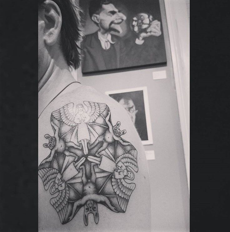 Prophecy Ink On Twitter Mc Escher Art Today Tattoo By
