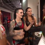RT @WWE: .@RubyRiotWWE, @YaOnlyLivvOnce and @Sarah...
