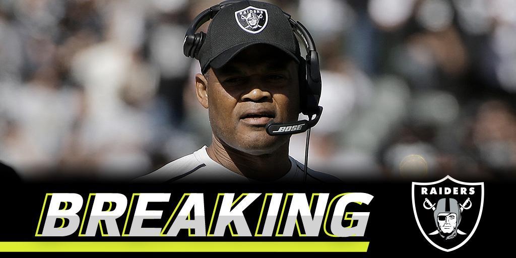 Raiders fire defensive coordinator: https://t.co/0QLpdjjMzt (via @MikeSilver) https://t.co/cdmT0L4OpK