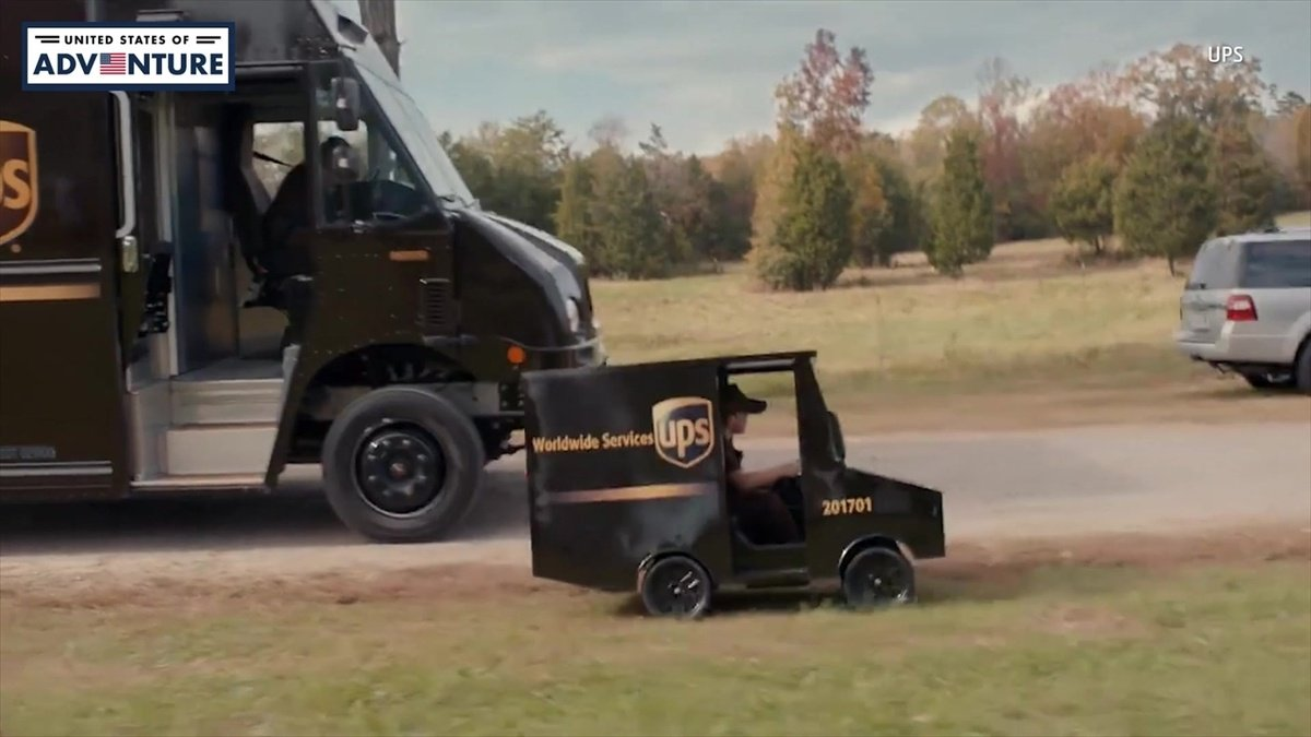 UPS Delivers Big Surprise to Little Boy https://t.co/8vCalypR3F