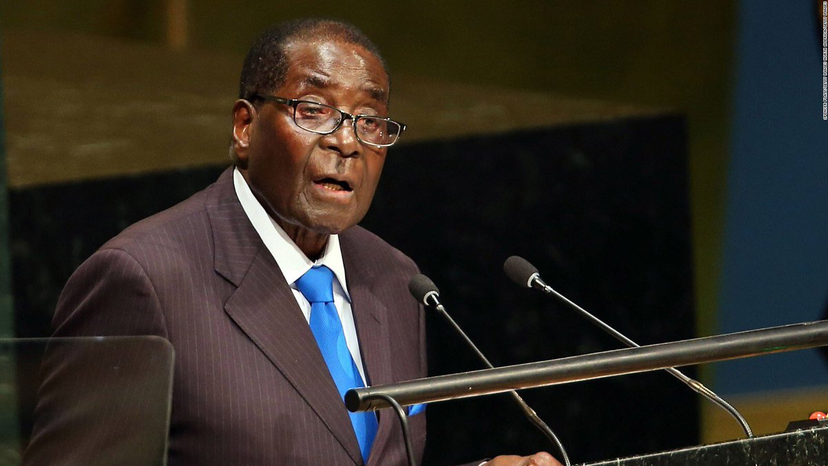 Zimbabwe's former president Robert Mugabe was granted immunity from prosecution in his home country as part of a deal that led to his resignation.