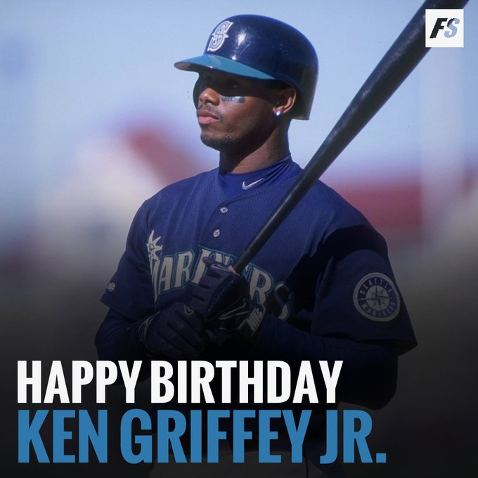 Happy 48th birthday to \The Kid\ Ken Griffey Jr.!