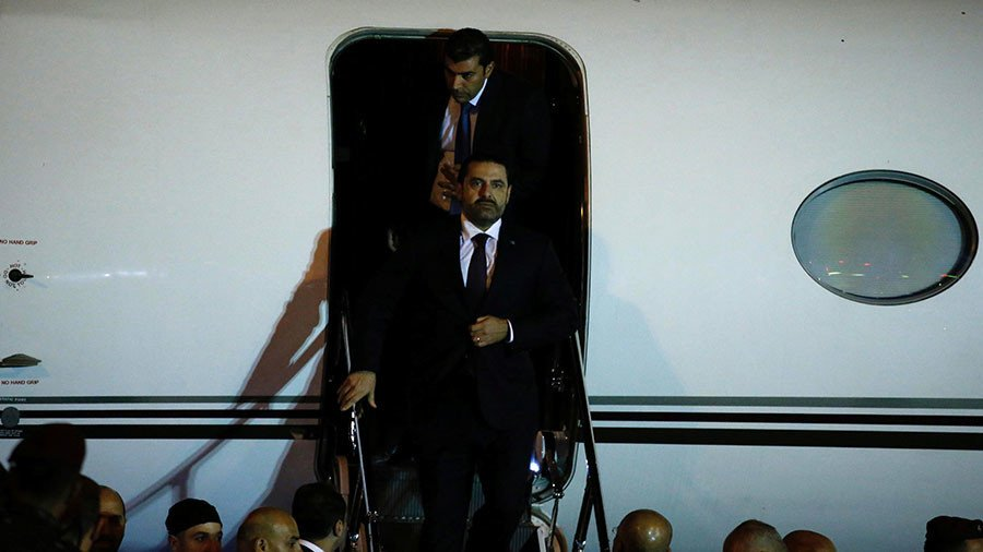 URGENT: Lebanon's PM #Hariri returns to #Beirut after abrupt resignation while in #SaudiArabia https://t.co/rVOLW8Jj6Q