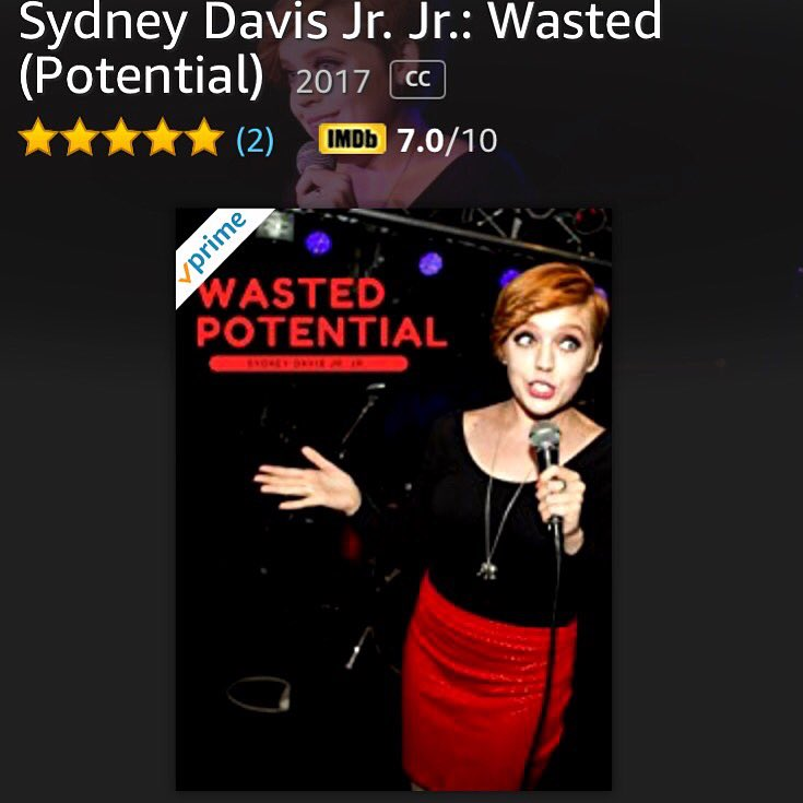 Not sure how my mom rated this twice, but I guess she gave me five stars both times. Thanks mom! #standup #comedyspecial #chicago #amazonprime #ginger #redhead #comedian #streaming #femalecomic #fivestars<br>http://pic.twitter.com/gzDQObYzqn