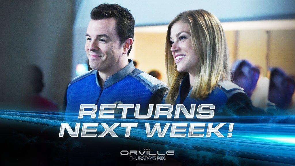 Don't go too far — #TheOrville returns o...