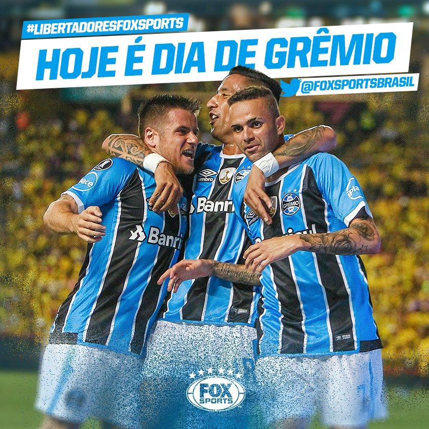 🇪🇪 TIRA A MÃO DE MIM QUE HOJE É DIA DE GRÊMIO! #LibertadoresFOXSports