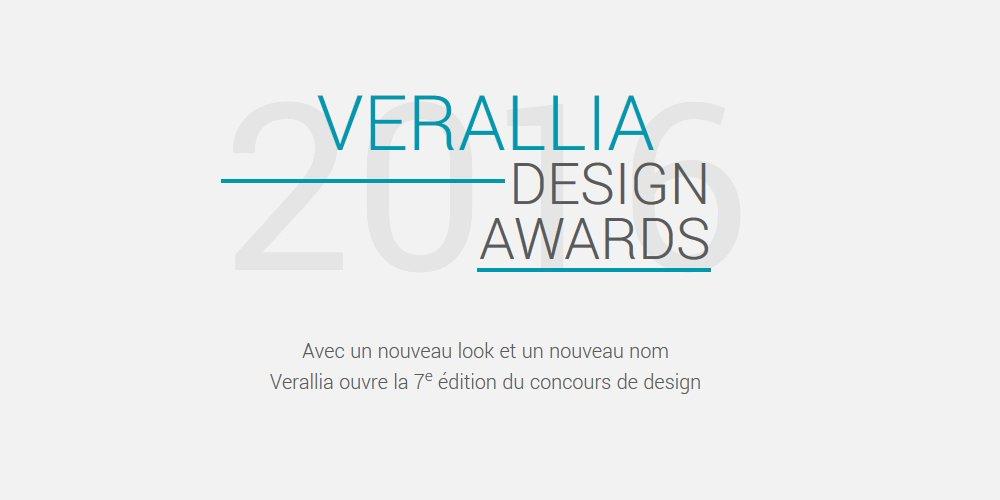 Concours VERALLIA Design Awards  #Appel #Design #france  http:// tinyurl.com/y7yxurpd  &nbsp;  <br>http://pic.twitter.com/2UHiLtNLCh