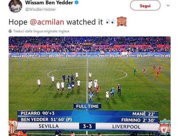 """Il Liverpool dal vantaggio 3-0 a 3-3 col Siviglia. Ben Yedder: """"Spero il ... - https://t.co/A9rq17x1s9 #blogsicilianotizie #todaysport"""