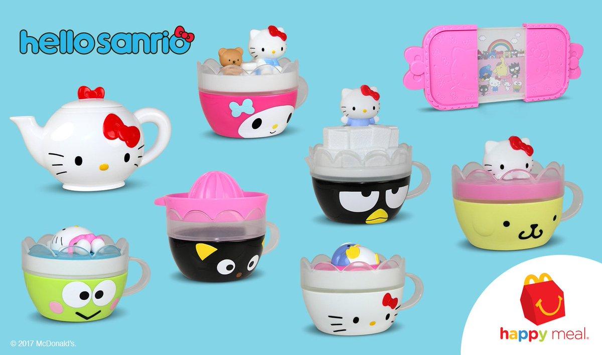 McDonalds Hello Kitty Tea Cup Sanrio # 3