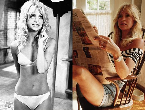 Happy Birthday: Goldie Hawn From Sexy Starlet To Today
