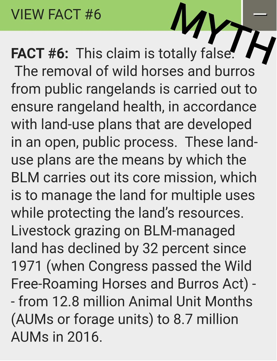 #BLM claims they don&#39;t remove #wildhorses to move in #Cattle We know better. We need a new direction of Management @HouseAppropsGOP @SenateFloor<br>http://pic.twitter.com/45YRN5RLcY