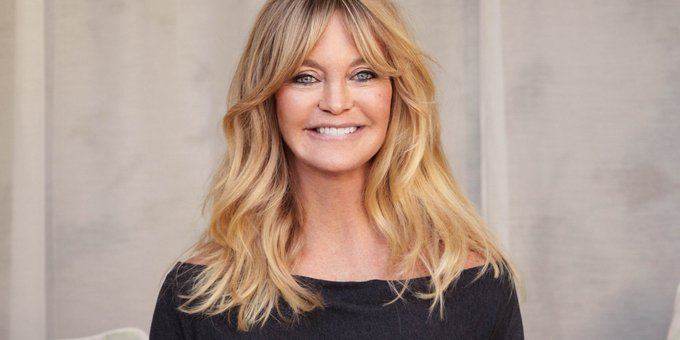 Happy birthday to the always evervescent Oscar winner Goldie Hawn.