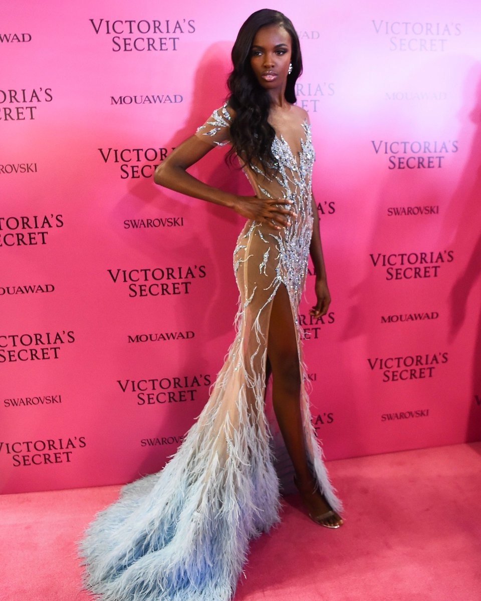 When you have your pink carpet gown cust...