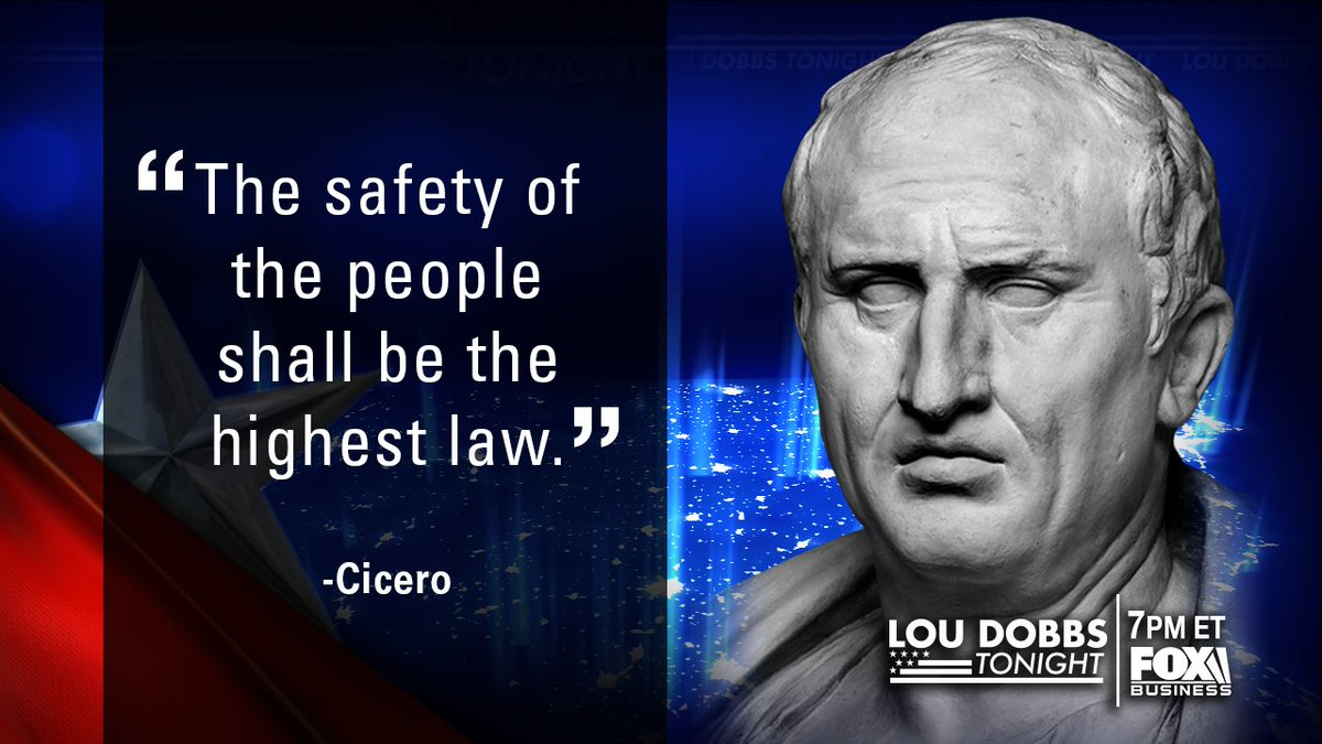 Tonight's #QuoteofTheDay from Cicero! #MAGA #TrumpTrain #Dobbs