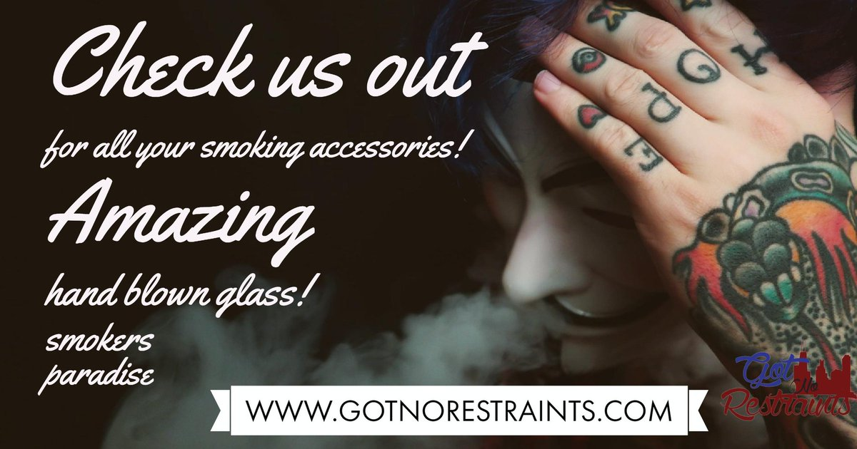 http:// GOTNORESTRAINTS.COM  &nbsp;    #DANK #cannabis #cannabiscommunity #CannaFam #cannabismedicinal #handblownglass #crushglass #dynomiteglass #GLASSWITHCLASS #QUALITY NOT #QUANITY!  #RT AND WE THANK ALL OF U FOR THE #SUPPORT  @EmeraldZoo @_jena4n @Hippie_of_Love @crazybatmanfan<br>http://pic.twitter.com/ZhQKgG4JWB