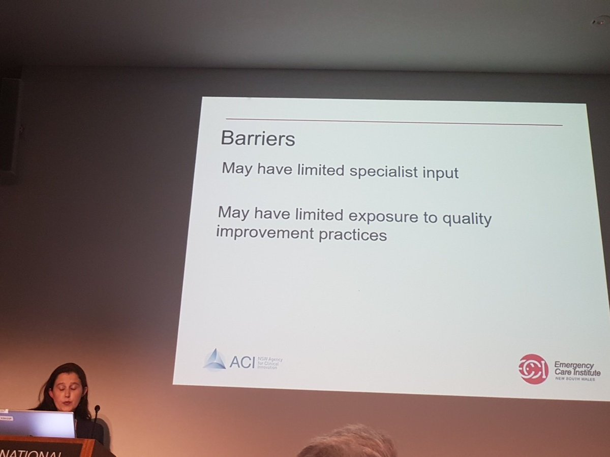 Dr Gabby Mane presenting at #acem17 on ECI E-Quest in the #quality session after a night shift - dedication! <br>http://pic.twitter.com/Z3H5QYKcdf