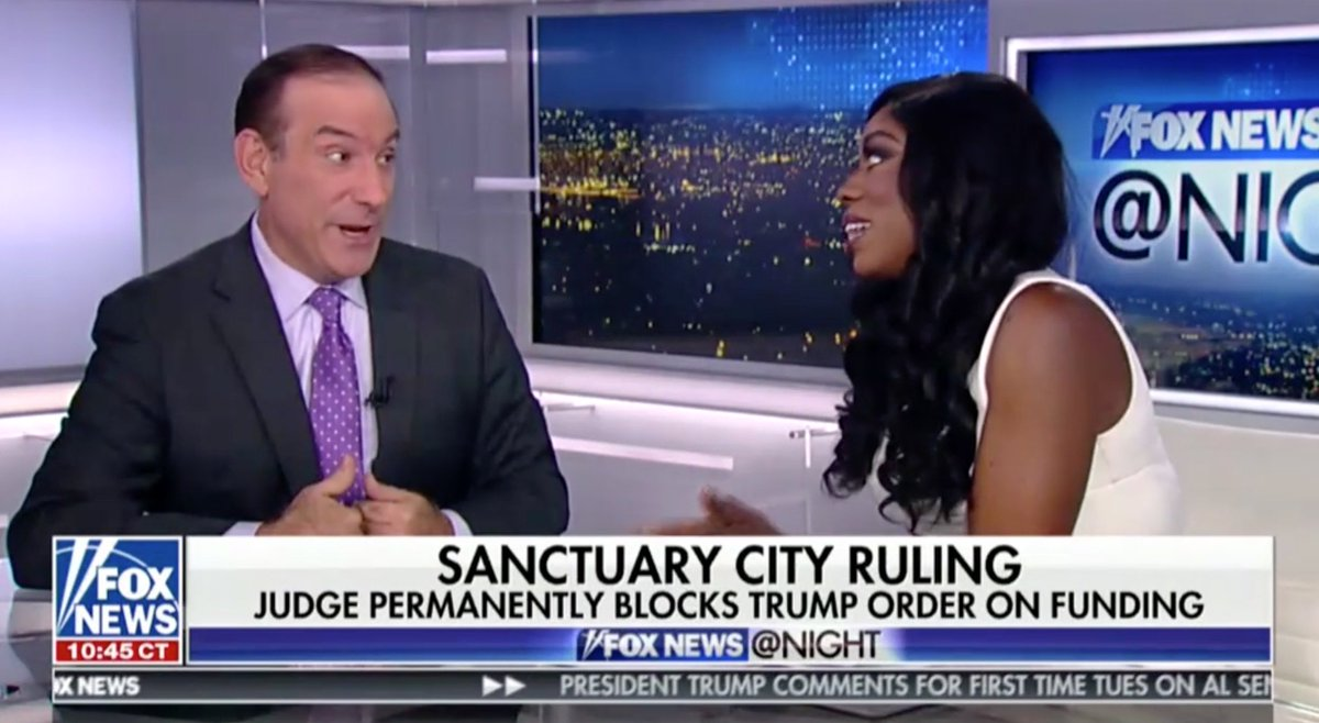 Mediaite's Larry O'Connor Slams Panelist on Sanctuary Cities: Don't Say I Was Painting Immigrants As Criminals https://t.co/KSjKyLzMVs