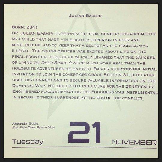 November 21, 1965 - Happy Birthday Alexander Siddig!