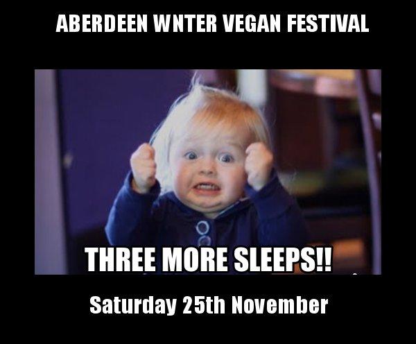 Only days away to #Aberdeen Winter #Vegan Festival :  http:// veganfestival.co.uk/aberdeen-vegan -festival-november-2017 &nbsp; …   #Aberdeenshire #veganhour #veganuk @goveganscotland @VeganEventsScot @aveganinscot<br>http://pic.twitter.com/SwbFM9uKHR