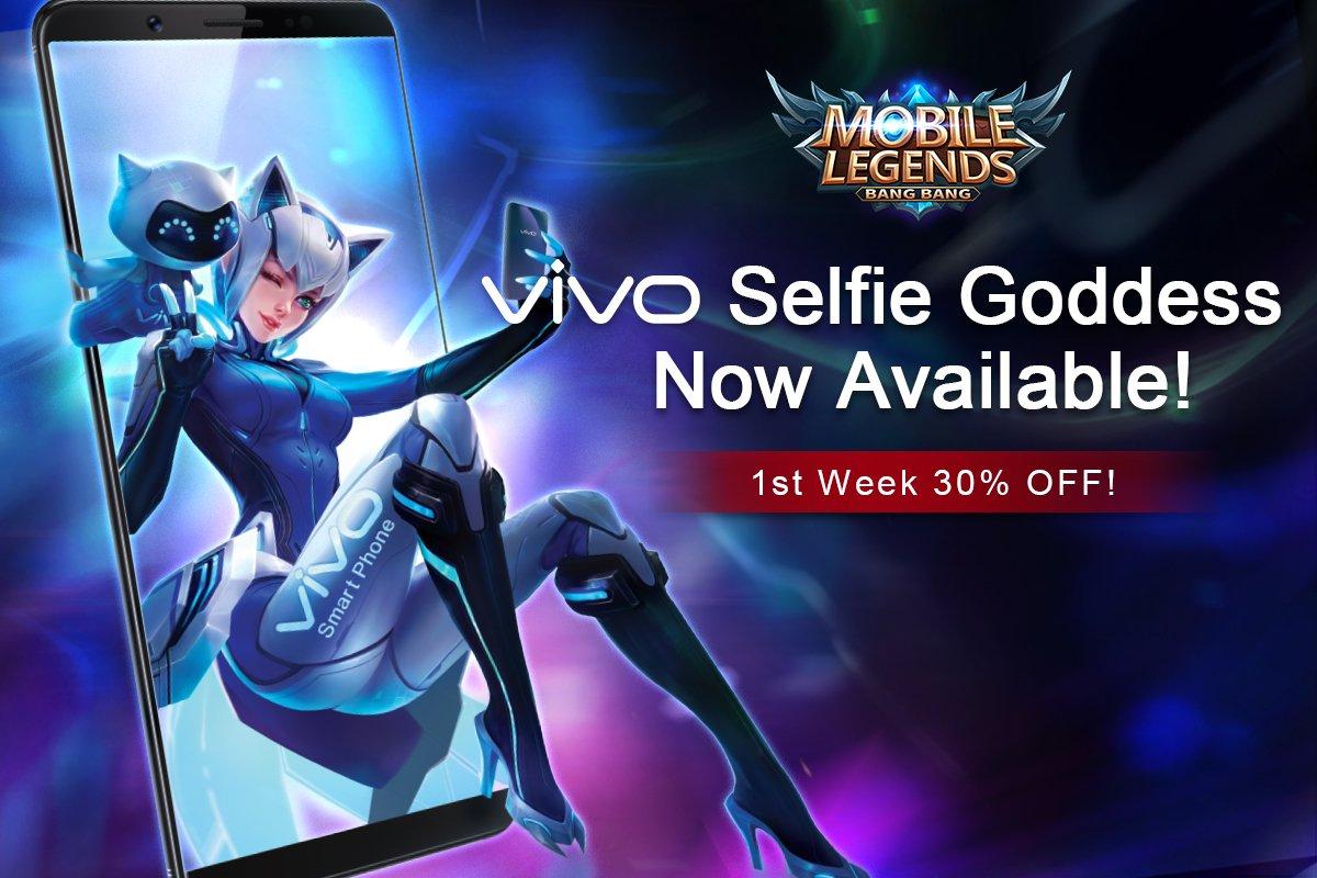 """Mobile Legends On Twitter """" MLBB Eudora S VIVO Selfie"""