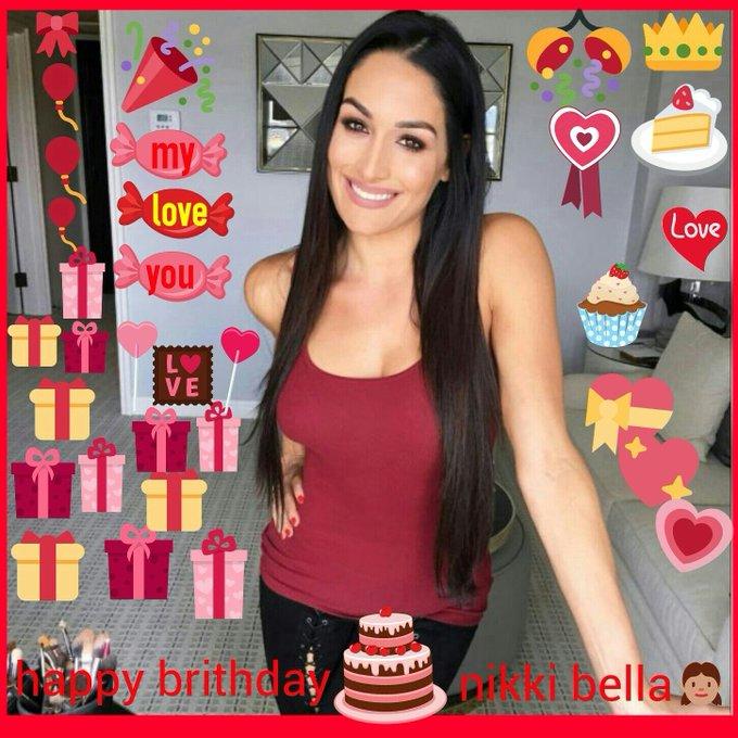 Happy birthday my pretty nikki bella