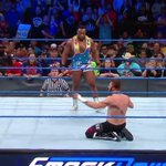 RT @WWE: He may have won the match, but a lone @Sa...