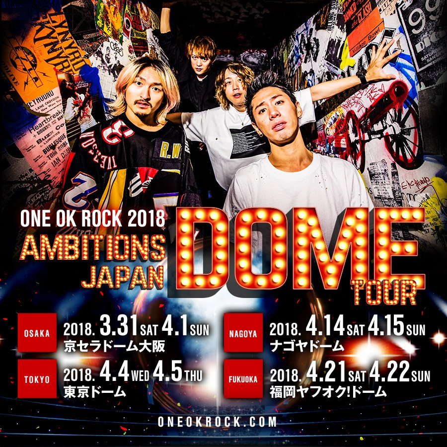 ONE OK ROCK_official - Twitter