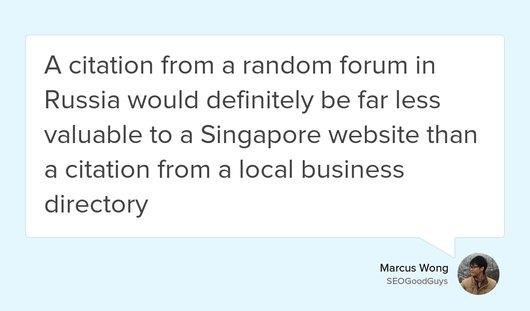 Big list of citation sources (and links) for local SEO in Singapore  https:// goo.gl/ckNn6p  &nbsp;   #backlinks #Citations #Singapore #localseo<br>http://pic.twitter.com/6JNWjgIYRj