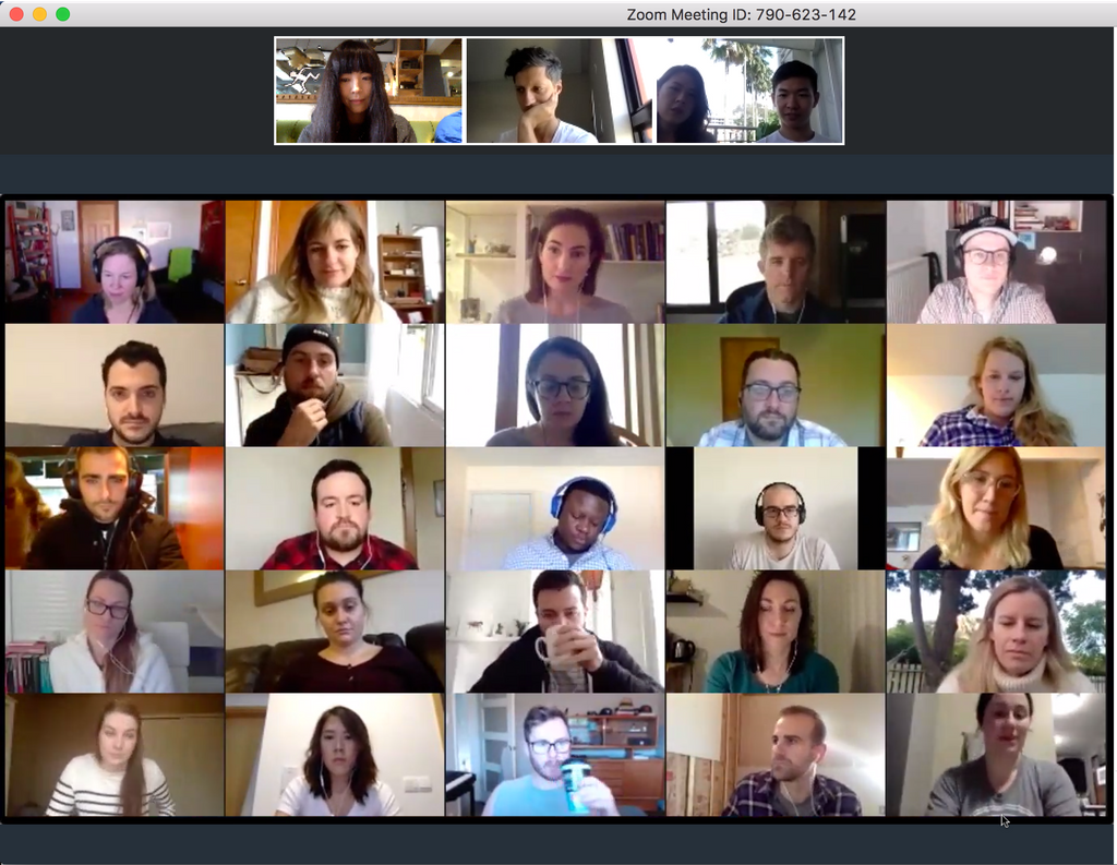 How do you do all-hands for teammates across different time zones?  Viewing Party to watch a Zoom within a Zoom! #remotework #meta <br>http://pic.twitter.com/GbdmVHYNYj
