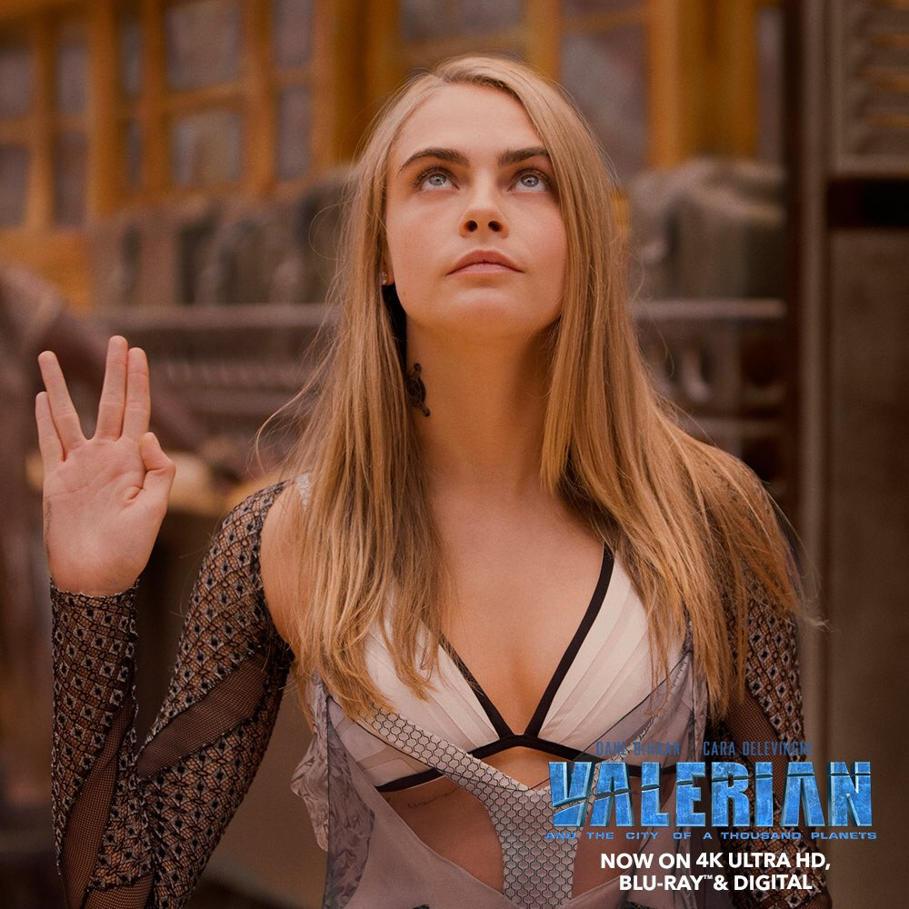 Valerian is on available on Blu Ray and 4K starting today!! 💫☄️ #valerian #caradelevingne #danedehaan #badgalriri #cliveowen #ethanhawke #herbiehancock