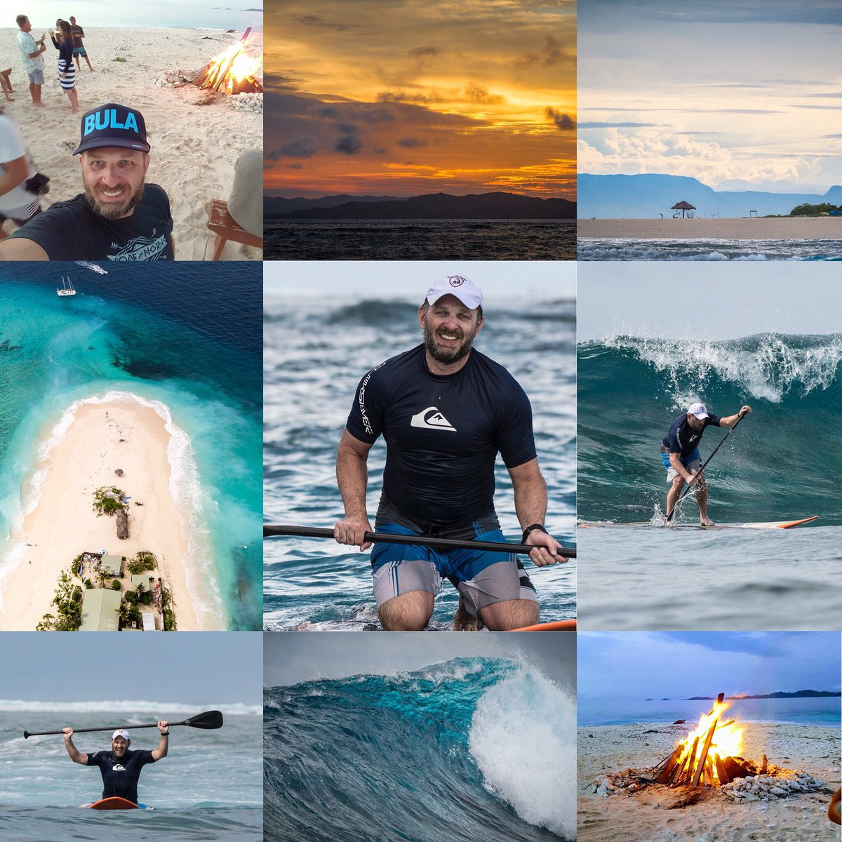 Perfect week in paradise @Namotu_Island #Fiji #kalamakamp, paddleboarding and surfing in South Pacific waves #SUP #paddleboard #surf #travel #saltlife photo credit @Joliphotos<br>http://pic.twitter.com/XfZVvQzS7o