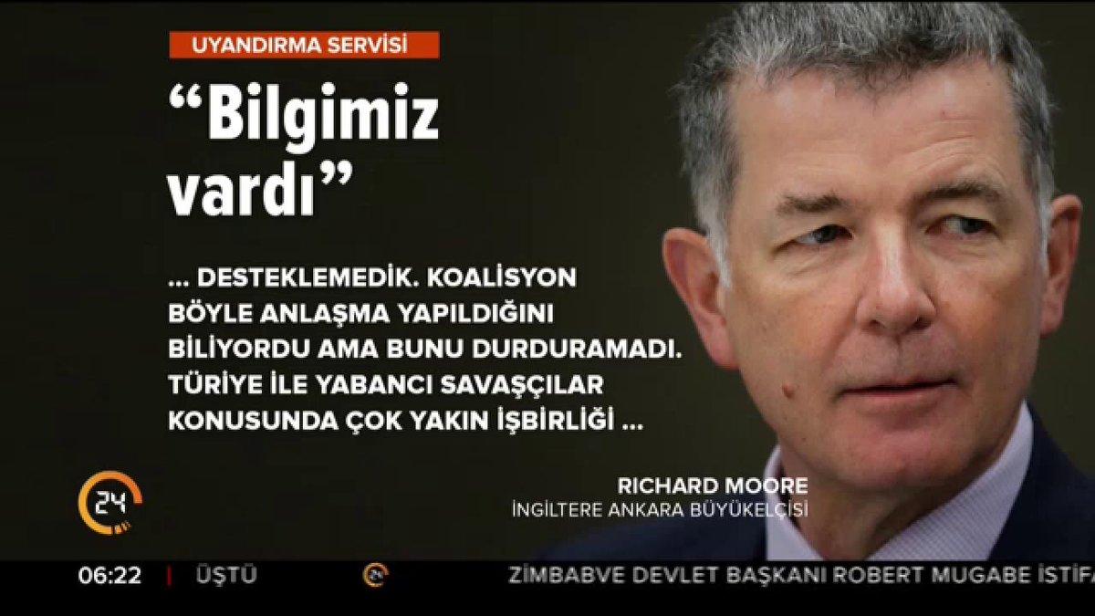 RT @yirmidorttv: İngiltere'nin Ankara Büyükelçisi Richard Moore: Koalisyon, PYD/PKK-DEAŞ anlaşmasını biliyordu https://t.co/YKPFRT6Lo5