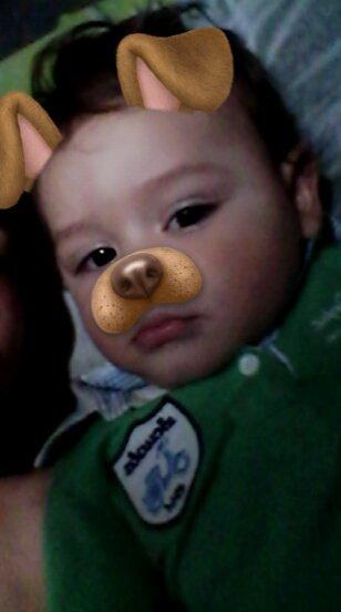 Es el bebe mas hermoso que mis ojos han visto.  #CrecesRapido #Ternurita
