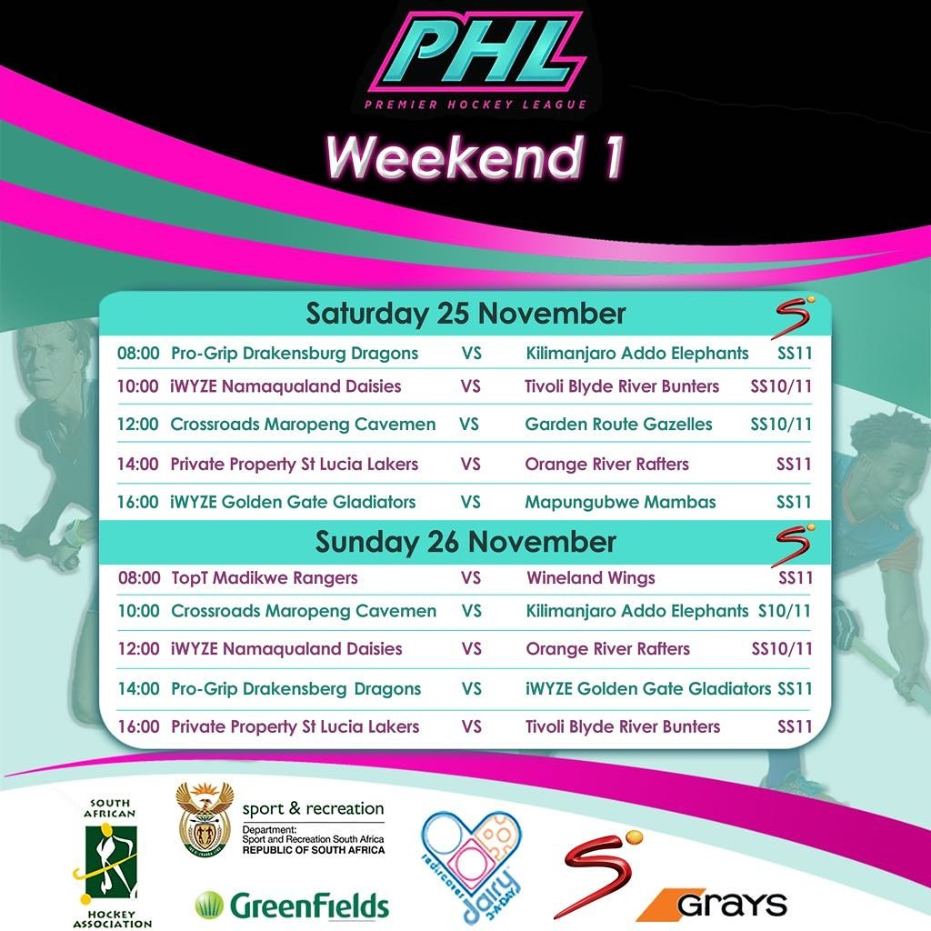 The @SA_PHL starts this weekend at Randburg Astro or catch it live on @SuperSportTV https://t.co/Nk8SUwjNES