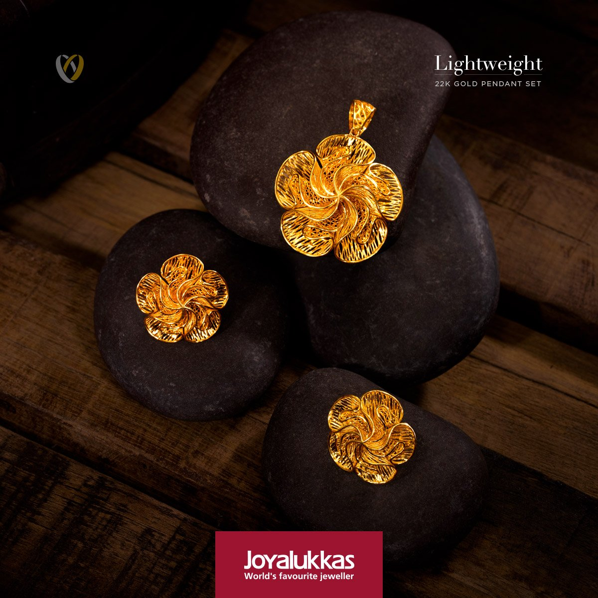 Joyalukkas india on twitter joyalukkas lightweight pendant set joyalukkas presents a beautiful lightweight turkish design pendant set in 22k gold crafted to showcase elegance at its best design no aloadofball Gallery