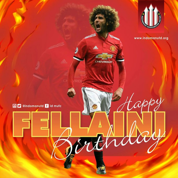Happy birthday Marouane Fellaini