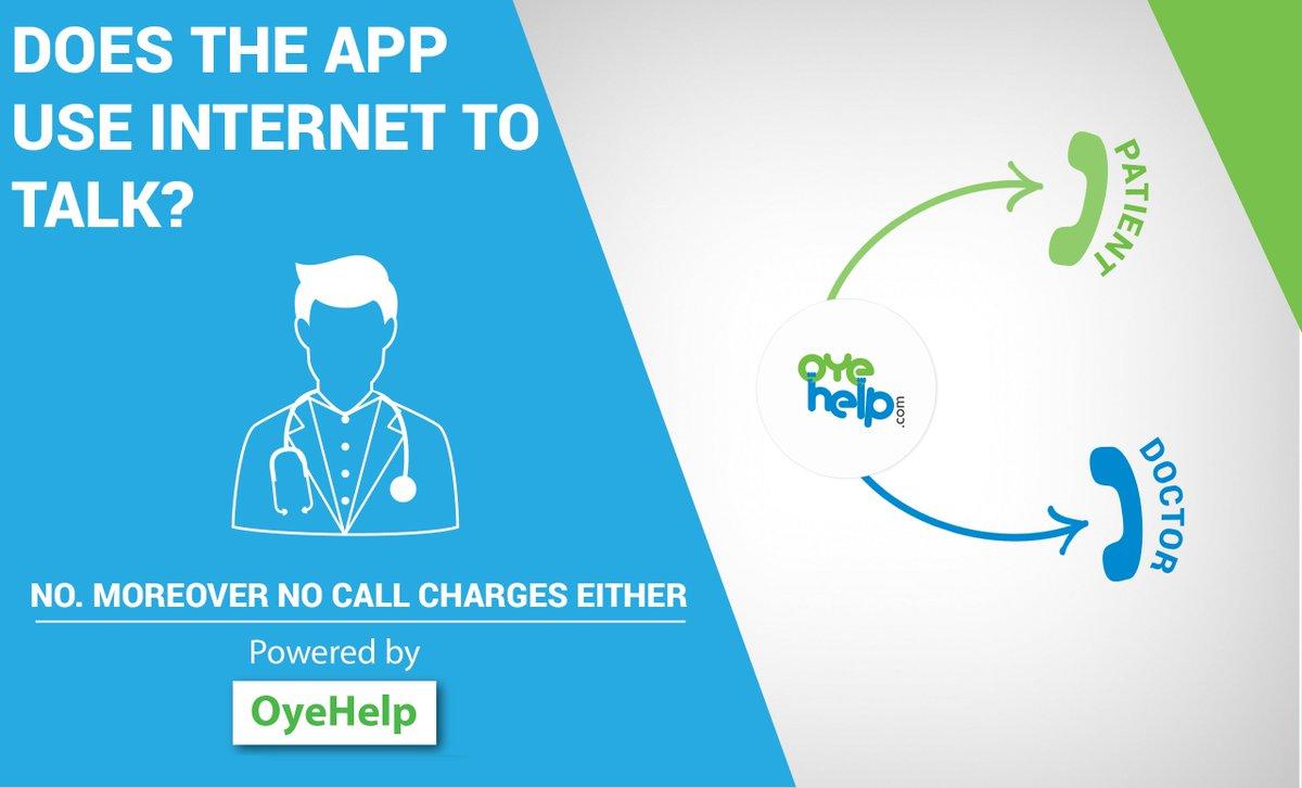 Does The App Use Internet To Talk? https://goo.gl/rp2UbZ      #OyeHelp