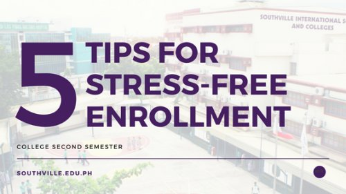 Want a hassle-free #enrollment? Check out these 5 tips for you!  https://www. southville.edu.ph/opencms/opencm s/Southville/v2/Webpages/News/Features/article_0082.html &nbsp; … <br>http://pic.twitter.com/4JcmE5uAS1