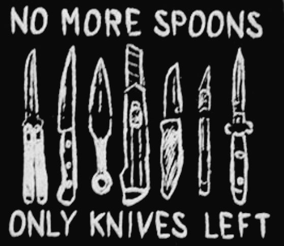 I laughed a little too hard at this one  #spoonie #EDS #ehlersdanlos #MCAD #chiari #POTS #chronicillness #chronicpain #nomorespoons #outofspoons #funny #EhlersDanlosSyndrome #mastcell #zebra<br>http://pic.twitter.com/tefrDuWx2I