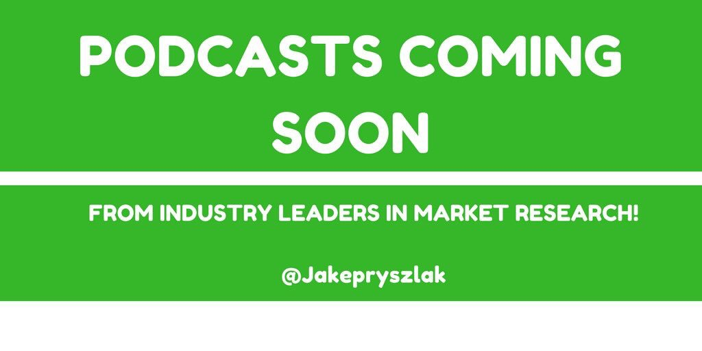 PODCASTS coming soon from industry leaders  Get in touch if you would like to get involved!! #NewMR #MRX #CX #UX #custexp<br>http://pic.twitter.com/CXjn8HqeAE