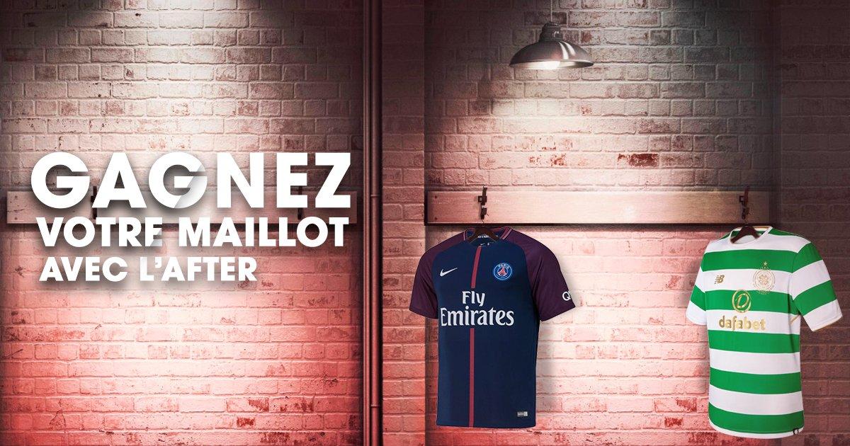 [JEU🏆] L'After vous offre un maillot de PSG ou du Celtic grâce à @footcenter_fr. RT en indiquant quelle équipe en commentaire ! Bonne chance à tous  ⚽️🍀 #rmclive