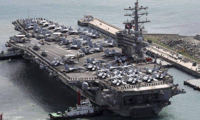 Oito militares americanos sobrevivem após avião cair no mar das Filipinas. https://t.co/AZgZ9LEYO6