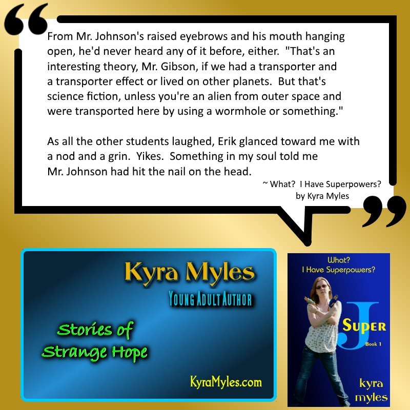 &#39;What?  I Have Superpowers?&#39;: She never knew her heritage.  http:// bit.ly/1Svc1pD  &nbsp;   #YoungAdult #Alien <br>http://pic.twitter.com/phaq76VCC8