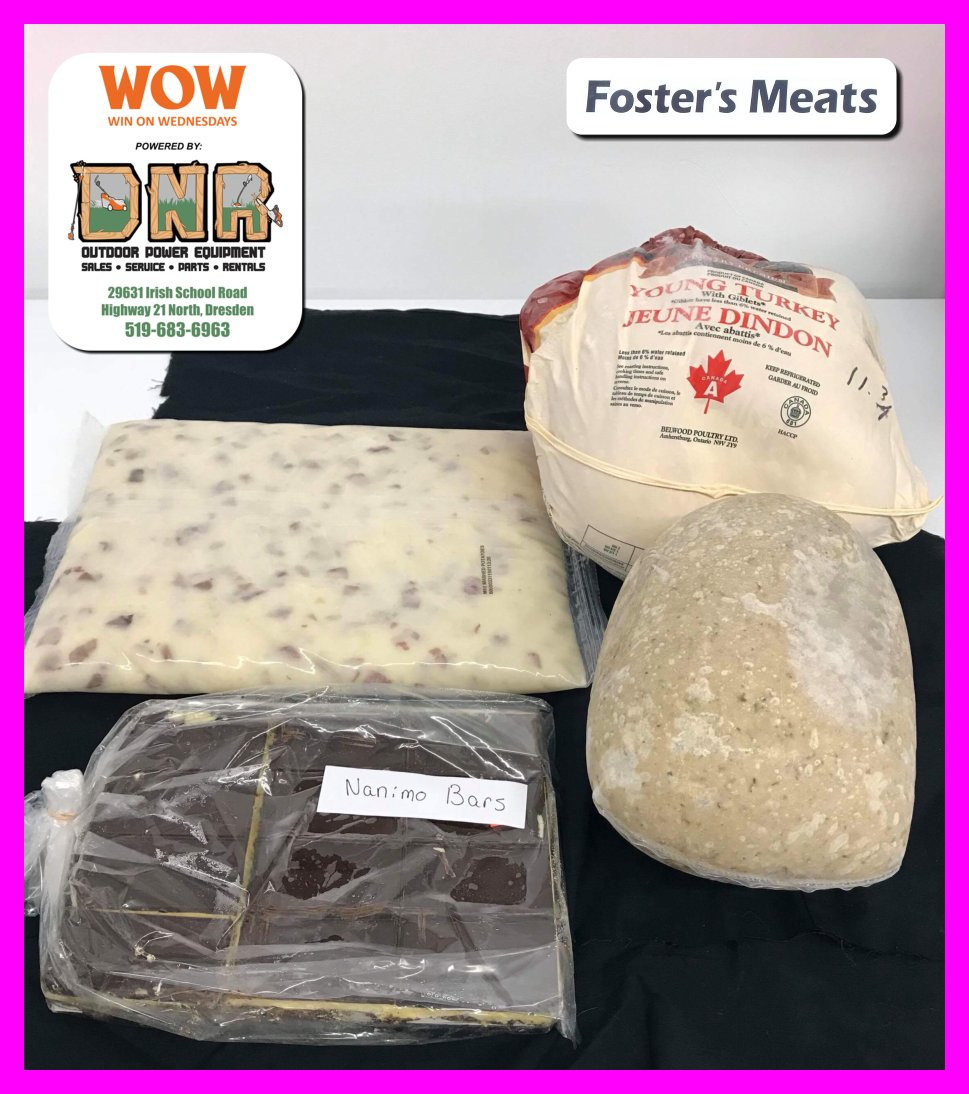 #DNROPE #WOW Win a $100 &#39;Christmas Dinner&#39; from @FostersMeats in #Wallaceburg http:// sydenhamcurrent.ca/2017/11/20/wow -win-a-100-christmas-dinner-from-fosters-meats/ &nbsp; …  #LastChance<br>http://pic.twitter.com/TdZKhGeNCq