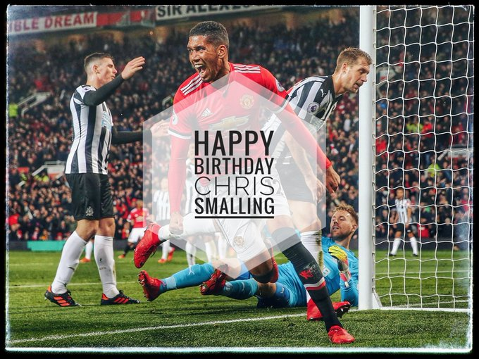Happy birthday Chris Smalling and Marouane Fellaini! All the best for you.