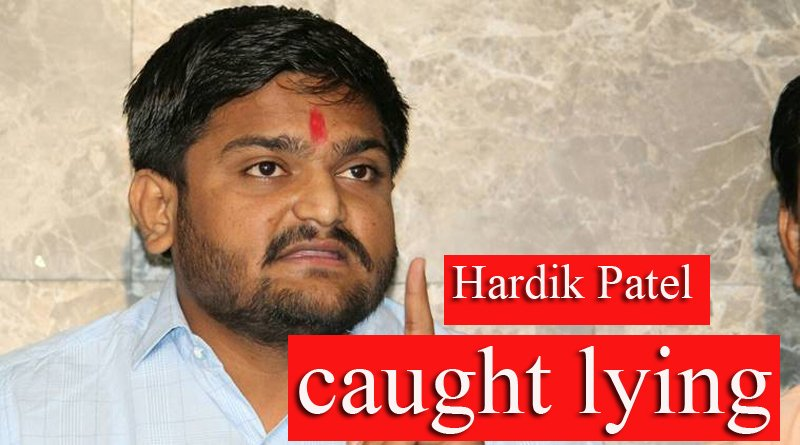 Hardik had not contacted with us on any...