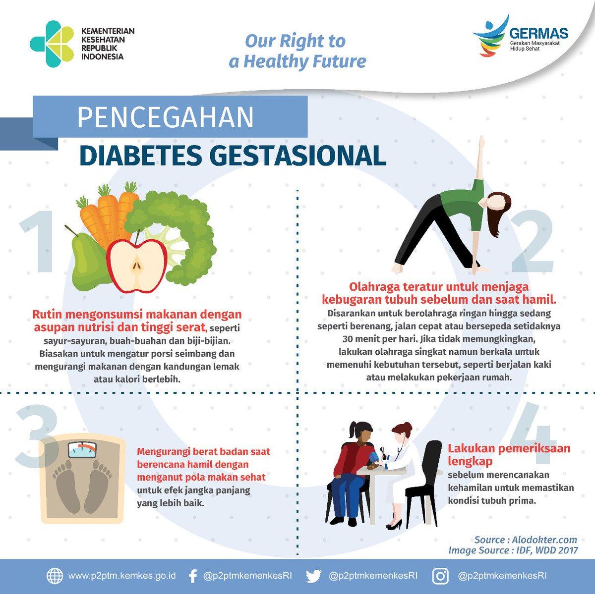 pencegahan diabetes melitus gestacional