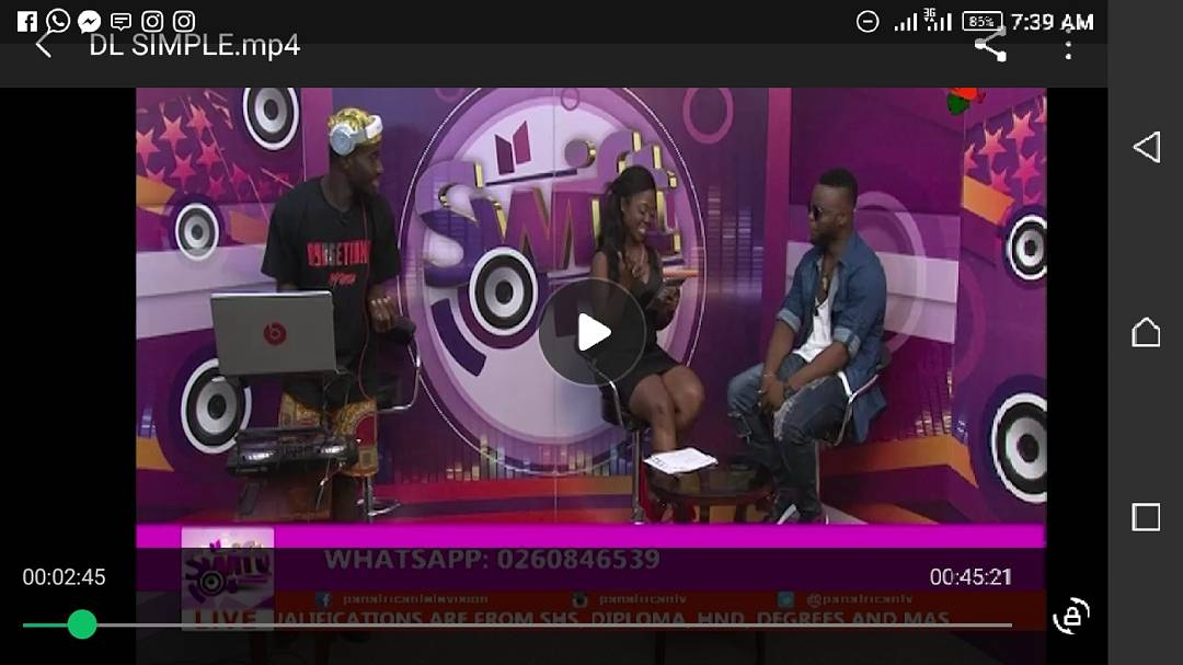 Thanks to you all that stayed tuned and  sent your text during the interview yesterday.@PAN AFRICAN TV. Much love i gat  for you #Dj SAKA#EDEM#NANA K#NYB@Pan African TV.  Much Love to you#SJANET#STAIN#DESTINIADO#STANZY G.  #tell the world@It was Fun.(DLS)  Thefullvideogets2 u sn. <br>http://pic.twitter.com/DusuMgoWPj