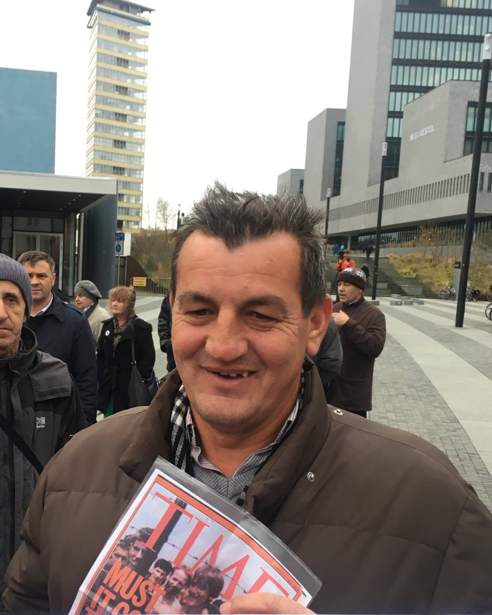 25 years ago Fikret Alic was photographed in a concentration camp in Bosnia. Today he's in The Hague awaiting the verdict on his tormentor, Ratko Mladic